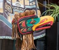 Παλαιά μάσκα Inuit Στοκ εικόνα με δικαίωμα ελεύθερης χρήσης