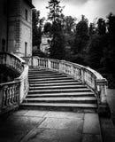 Παλαιά μαρμάρινη σκάλα Στοκ φωτογραφία με δικαίωμα ελεύθερης χρήσης