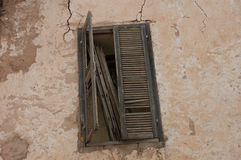 Παλαιά μαροκινά παράθυρα berbers Στοκ Φωτογραφίες