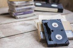 Παλαιά μαύρη ταινία Στοκ φωτογραφίες με δικαίωμα ελεύθερης χρήσης