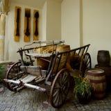 Παλαιά μεταφορά ξυλείας ύφους ως επίδειξη Στοκ φωτογραφία με δικαίωμα ελεύθερης χρήσης
