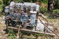 Παλαιά μηχανή 2 αυτοκινήτων Στοκ Φωτογραφία