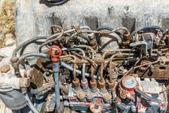 Παλαιά μηχανή 4 αυτοκινήτων Στοκ εικόνες με δικαίωμα ελεύθερης χρήσης
