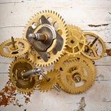 Παλαιά μηχανικά εργαλεία ρολογιών Στοκ εικόνες με δικαίωμα ελεύθερης χρήσης