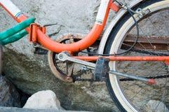 Παλαιά μηχανική λεπτομέρεια ποδηλάτων Στοκ Εικόνες