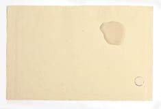 Παλαιά μμένη σύσταση εγγράφου Στοκ φωτογραφίες με δικαίωμα ελεύθερης χρήσης
