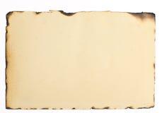 Παλαιά μμένη σύσταση εγγράφου Στοκ Εικόνα