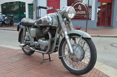 Παλαιά μοτοσικλέτα BSA Στοκ φωτογραφία με δικαίωμα ελεύθερης χρήσης