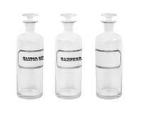 Παλαιά μπουκάλια αποθηκαρίων Στοκ φωτογραφία με δικαίωμα ελεύθερης χρήσης