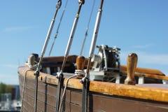 παλαιά ναυσιπλοΐα ξαρτιών Στοκ Εικόνες