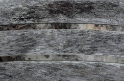 Παλαιά ξεπερασμένη ξύλινη planking σύσταση καρεκλών Στοκ Εικόνες