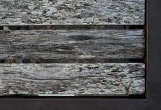 Παλαιά ξεπερασμένη ξύλινη planking σύσταση καρεκλών Στοκ φωτογραφίες με δικαίωμα ελεύθερης χρήσης