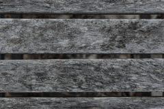 Παλαιά ξεπερασμένη ξύλινη planking σύσταση καρεκλών Στοκ Φωτογραφίες