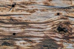 Παλαιά ξεπερασμένη ραγισμένη ξύλινη σύσταση επιφάνειας διασυνδετικών δοκών Στοκ εικόνες με δικαίωμα ελεύθερης χρήσης