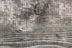 Παλαιά ξεπερασμένη ραγισμένη τραχιά κατασκευασμένη σανίδα με τους κόμβους Στοκ φωτογραφία με δικαίωμα ελεύθερης χρήσης