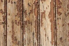Παλαιά ξεφλουδίζοντας ξύλινα slats Στοκ Φωτογραφίες