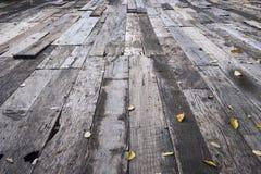 Παλαιά ξύλινα πατώματα Στοκ Εικόνες