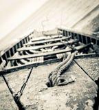 Παλαιά ξύλινη βάρκα στοκ εικόνα με δικαίωμα ελεύθερης χρήσης