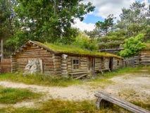 Παλαιά ξύλινη καλύβα, καλύβα Στοκ φωτογραφία με δικαίωμα ελεύθερης χρήσης