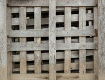 Παλαιά ξύλινη παλέτα Στοκ Φωτογραφία