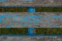 Παλαιά ξύλινη planking σύσταση καρεκλών Ξύλινα slats Στοκ Φωτογραφία