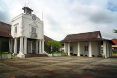 Παλαιά οικοδόμηση δικαστηρίου σε Kuching Στοκ Φωτογραφία