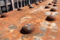 Παλαιά οξυδωμένη σκουριασμένη σύσταση μετάλλων/σύσταση σκουριάς Στοκ Φωτογραφίες