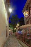 Παλαιά οδός πόλεων του Annecy, Γαλλία, HDR Στοκ εικόνα με δικαίωμα ελεύθερης χρήσης