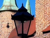 Παλαιά οδός lampost στοκ φωτογραφίες