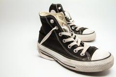 Παλαιά πάνινα παπούτσια Στοκ Φωτογραφία