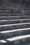 παλαιά πέτρα σκαλών σειράς της Ιταλίας Στοκ Εικόνες