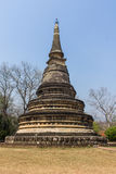 Παλαιά παγόδα σε Wat Umong Suan Puthatham, Chiangmai Ταϊλάνδη Στοκ φωτογραφία με δικαίωμα ελεύθερης χρήσης