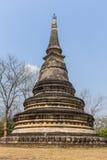 Παλαιά παγόδα σε Wat Umong Suan Puthatham, Chiangmai Ταϊλάνδη Στοκ Φωτογραφία