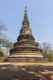 Παλαιά παγόδα σε Wat Umong Suan Puthatham, Chiangmai Ταϊλάνδη Στοκ Εικόνα