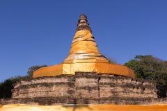 Παλαιά παγόδα στο tha wiang kan, αρχαία πόλη στο chiangmai, Ταϊλάνδη Στοκ Εικόνα