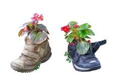 παλαιά παπούτσια Στοκ Φωτογραφίες