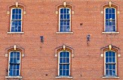Παλαιά παράθυρα μύλων Στοκ Εικόνες