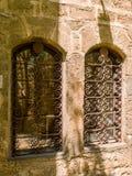 Παλαιά παράθυρα στην παλαιά πόλη Jaffa Στοκ Φωτογραφίες