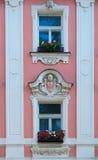 Παλαιά παράθυρα στην Πράγα Στοκ φωτογραφίες με δικαίωμα ελεύθερης χρήσης