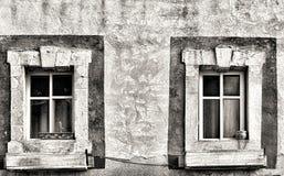 Παλαιά παράθυρα του Ισραήλ Στοκ Εικόνα