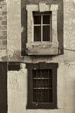 Παλαιά παράθυρα του Ισραήλ Στοκ Εικόνες