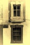 Παλαιά παράθυρα του Ισραήλ Στοκ εικόνες με δικαίωμα ελεύθερης χρήσης