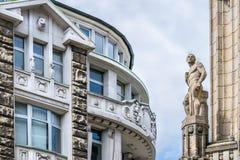 Παλαιά παραδοσιακά κτήρια στο Αμβούργο Στοκ φωτογραφία με δικαίωμα ελεύθερης χρήσης