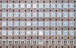 Παλαιά παραδοσιακά κτήρια στο Αμβούργο Στοκ Εικόνες