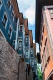 Παλαιά παραδοσιακά σπίτια σε Plovdiv, Βουλγαρία Στοκ Εικόνα