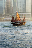 Παλαιά παλιοπράγματα στο λιμάνι Χονγκ Κονγκ Στοκ Εικόνες