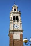 Παλαιά περίληψη arsizio Busto στην Ιταλία ο τοίχος και Στοκ εικόνα με δικαίωμα ελεύθερης χρήσης