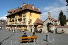 Παλαιά περιοχή οικοδόμησης Schei Brasov Στοκ φωτογραφία με δικαίωμα ελεύθερης χρήσης