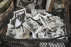 Παλαιά περιοχή της Ιστανμπούλ Ã ‡ στο ukurcuma, παλαιό κολλοειδές διάλυμα οικογενειακών φωτογραφιών Στοκ Φωτογραφία