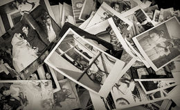 Παλαιά περιοχή της Ιστανμπούλ Ã ‡ στο ukurcuma, παλαιό κολλοειδές διάλυμα οικογενειακών φωτογραφιών Στοκ Εικόνες